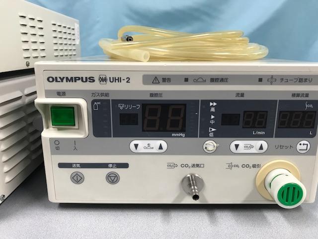 (日本語) 内視鏡外科器械一式 OTV-SP1.OTV-S7H.UHIー2.光学視管、処置具一式